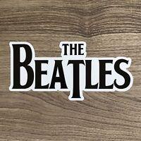 "The Beatles Logo 5"" Wide Vinyl Sticker - BOGO"