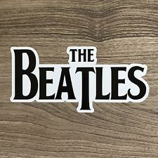 "The Beatles Logo 5"" Wide Vinyl Sticker - BOGO"