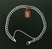 "New Large James Avery  Sterling Silver Charm Bracelet - 8"" Length"