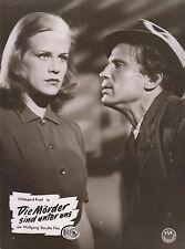 Mörder sind unter uns (Kinofoto '53) - Hildegard Knef / Wolfgang Staudte