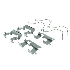 Disc Brake Hardware Kit Front Centric 117.40053