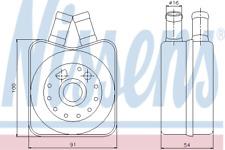 Ölkühler Motoröl - Nissens 90607