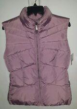New ADD Italy Light Purple Nylon EuropeanGoose Down Puffer Vest Jacket 8/46 $380