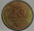 20 centimes marianne 1993 : SUP : pièce de monnaie française
