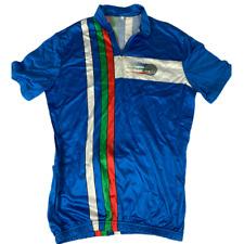 Rare cycling t shirt Italia Castelli Rosate Original Team Wear Made in Italy