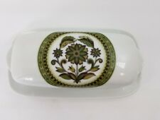 Noritake Summer Song Butter Dish With Lid