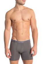 NEW Calvin Klein Microfiber Stretch Boxer Briefs - NP2147O - Gray - XL