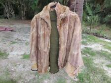 Vintage Genuine Mink Muskrat ? Fur Coat For Repurposing Crafts