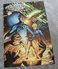 Fantastic Four 2002 MARK WAID Mike Wieringo Kesel Isanove PROMO Marvel Poster FN
