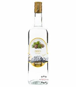 Dolomiti: Zirben-Schnaps / 40 % Vol. / 1,0 Liter - Flasche
