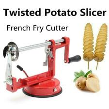 Potato Chip Slicer Spiral Fruit Vegetable Manual Twister French Fry Cutter Tool