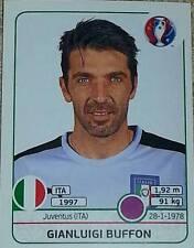 497 Adriano Buffon Italia Panini Euro 2016 Etiqueta engomada de Francia