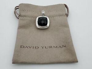 David Yurman 17mm Enhancer Albion Pendant with Black Onyx