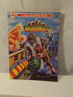 RARE 1986 Golden #1173  Hasbro Inhumanoids Coloring Book