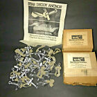 Lot of 24 Vintage Star Style Lead Duck Decoy Anchors w/ Rubber Bands 5 OZ Ounce