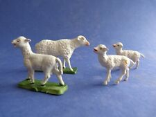 Ferme STARLUX - Une brebis et trois agneaux