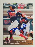 2016 Grandstand Tyler Hill Autograph Card Red Sox Lowell Spinners, Auto