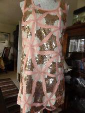 BOOHOO SEQUIN DRESS SIZE 10