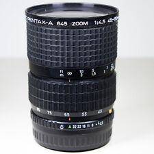 Pentax 645 45-85mm f/4.5  Wide Angle Zoom   Pentax 645 Manual Focus