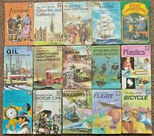 15 X LADYBIRD BOOKS : ACHIEVEMENTS SERIES 601 Churches & Cathedrals, Bicycle etc