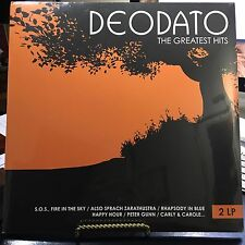 DEODATO THE GREATEST HITS, 2 VINYL LP'S GERMANY 2008