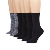 Hanes ComfortBlend Women's Crew Socks 6-Pack