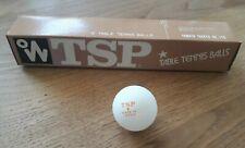 VINTAGE 6 Balle w TSP TENNIS DE TABLE  YAMATO TAKKYU JAPAN nos neuf ラケット 卓球
