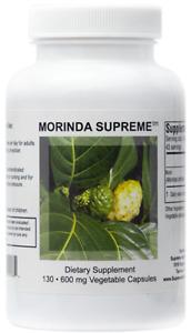 Supreme Nutrition Morinda Supreme | 130 Whole Noni Fruit 600 mg Capsules