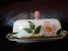Franciscan Dessert Rose 1/4 lb. Covered Butter Dish TV Mark USA Gladding mcBean