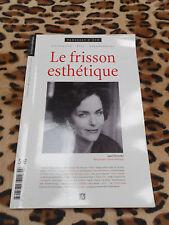 REVUE LE FRISSON ESTHETIQUE N° 5, 2007