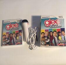 NEW (open Box) Karaoke Revolution: Glee Volume 2 (Nintendo Wii, 2011) With Mic