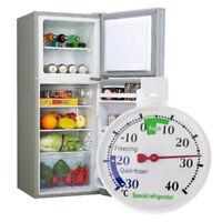 Refrigerator Freezer Thermometer Fridge Refrigeration Temperature Gauge FT