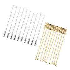 20 Piece Long Stick Needle Plug Lapel Hat Scarf Brooch Boutonniere Pins