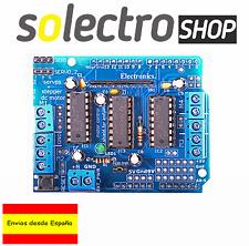 Shield L293D Controlador PaP motor 4 canales Expansion Board Arduino R001
