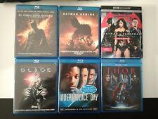Pack Blu Ray Marvel Batman Superman Blade