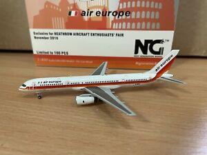 Air Europe 757-200 'Italian Flag' 1:400 (Reg G-BNSE) NG53073 NG Models