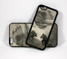 Retro Star Wars World War II Death Star  iPhone 6 6S+ phone case