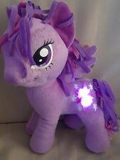 "My Little Pony 12"" Twilight Sparkle Unicorn Plush Talking & Music Light Up"