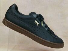 Puma Court Star Black Leather Tennis Shoes 357255-04 Men's US 13 / EUR 47