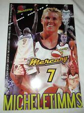 MICHELE TIMMS Night #7 August 14 2001 Phoenix Mercury POSTER WNBA Basketball
