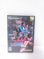 Time Crisis II (Sony PlayStation 2 PS2) Complete Game & Case TESTED Fast Ship!