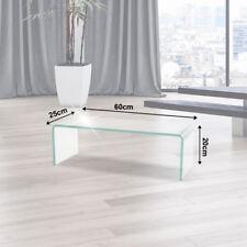 TV Glasaufsatz Glas Tisch Aufsatz Monitor Erhöhung Podest LED TFT LCD Bühne 60cm