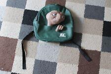 """More details for e.t. extra terrestrial 12"""" rucksack bag backpack vintage universal studios rare"""