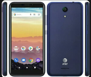 "NEW 16GB AT&T Calypso SmartPhone Android 10 Chameleon Blue #U318AA GSM 5.5"" NIB"