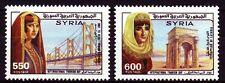 Syrien Syria 1988 ** Mi.1731/32 Tourismus Tourism Sehenswürdigkeiten Sights