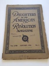 Daughters of the American Revolution Magazine - Vol 58 - January 1924