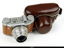 Camera Bronze Altix lens Meyer Trioplan 2.9/50mm Red V