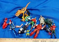 HUGE LOT 90s Action Figures Marvel DC Comics Star Wars Toys Collection VTG