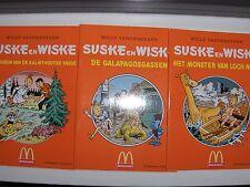 Drieluik Suske en Wiske Mc Donalds 2002!!