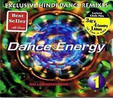 DANCE ENERGY 1 - EXCLUSIVE HINDI REMIXES BRAND NEW CD - FREE UK POST